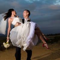 wedding couple crop