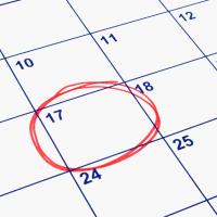 Calendar - Weekday Wedding