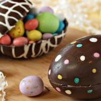 Virtual Chocolate Easter Egg Creation
