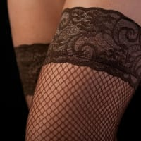 Fishnet Stockings, Female Stripper