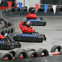 Teamworks karting - indoor track