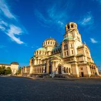 Main Square Sofia in Bulgaria