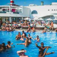 Kaluna beach club - Pool area