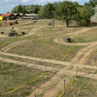 Paintball Brno - Quad bike course
