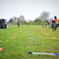 Impact blackpool - combat archery site