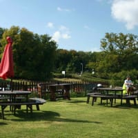 Gatcombe Farm - Outside terrace area - 2
