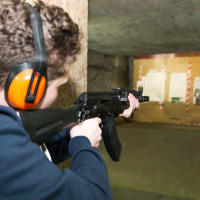Riga Target Shooting Guns kalashnikov rifle stag