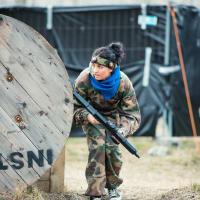 Outdoor Laser Combat