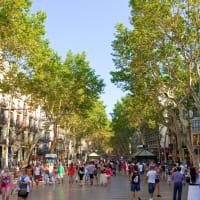 *EDITORIAL USE* La Rambla, Barcelona