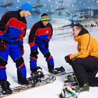 Ski Dubai Ski Slope Session