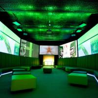 Heineken Experience - Interior of factory lounge area