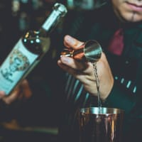 corporate event ideas - Cocktail making