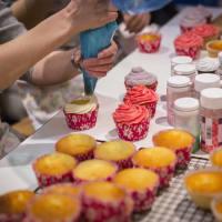 Naughty Cupcake Workshop & Red Light Photo Shoot