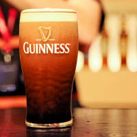 A pint of Guinness