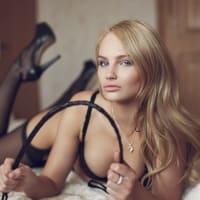 Female Stripper dominatrix