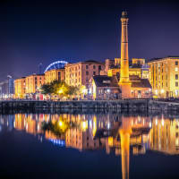 Liverpool centre Albert Docks