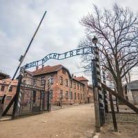 Auschwitz - front gate