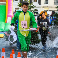 The Great Xmas Pudding Race