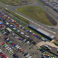 Knockhill racing circuit - exterior circuit