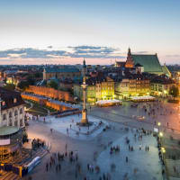 historic centre of Warsaw and old town