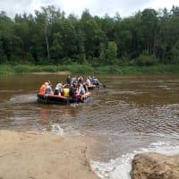 Makars - Rafting on the lake