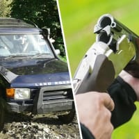 4x4 Off Road Driving & Clay Pigeon