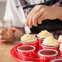 Cupcake making session