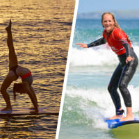 Yoga & Surfing Combo