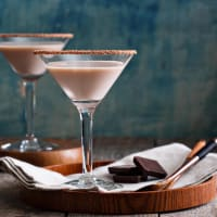 Chocolate Cocktail Making