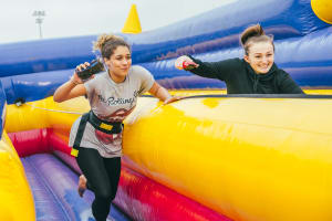 It's a Knockout, Knockout Games, Inflatable Games