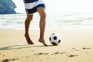 Five-A-Side Beach Football