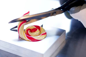 A candy making class