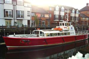 Cardiff cruises - boat