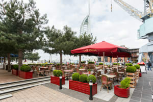 Cafe Rouge Portsmouth - Outdoor area