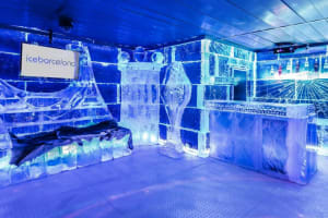 Icebar Barcelona - interior