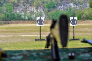 Target shooting site