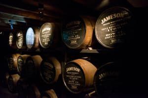 Jameson's whiskey factory
