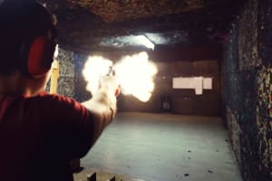 Pistol Shooting - 50 Bullets