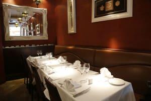 Ignite Restaurant - Inside tables