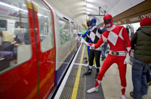 Power Ranger Fancy Dress
