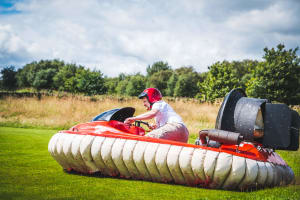 Hovercrafting On Land