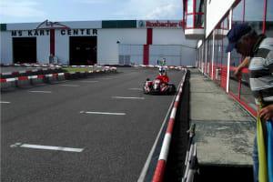 Michael Schumacher Go Kart - go kart track