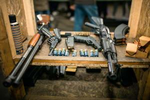 Guns Shotgun Target shooting riga