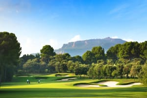 18 Holes - Blue Course at Real Club de Golf El Prat