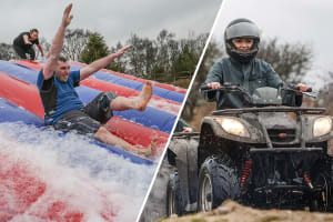 It's A Knockout & Quad Biking
