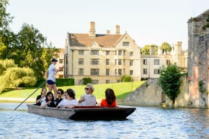 A group punting