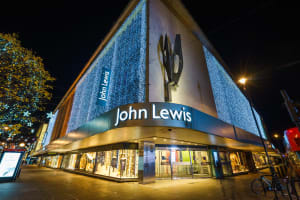 John Lewis Oxford Street **editorial**