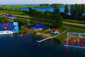 Total Wipeout Netherlands Amsterdam ariel view