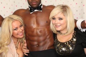 Butlers in the buff nude man waiter naked hunky hosts male strippers hens