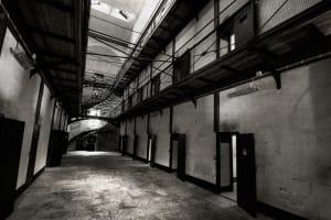 Wicklow gaol-hallway